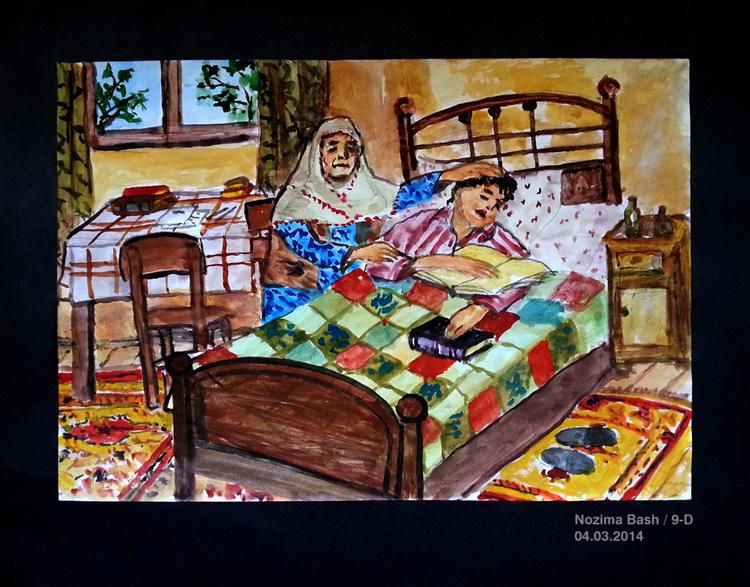 Zeytinburnu İdmib Çok Programı Lisesi Öğrenci Çizimleri