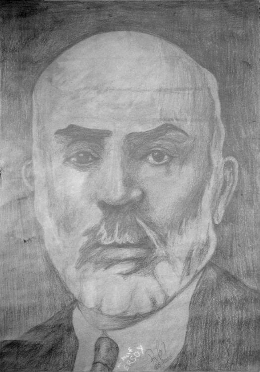 Mehmet Akif Ersoy portre