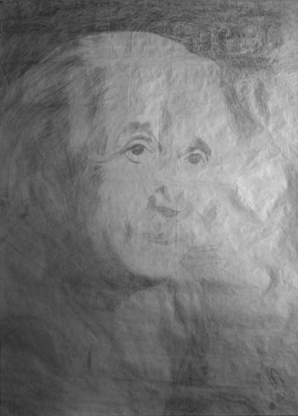 Albert Einstein Portre
