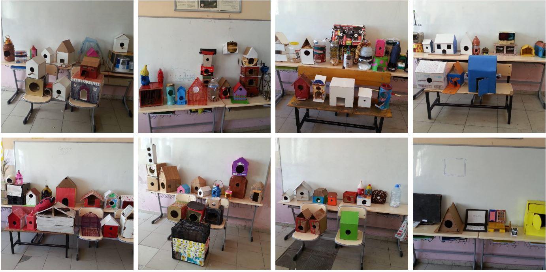 23 Nisan Ortaokulu Kuş Yuvası Tasarımı Öğrenci çalışmaları – 2016-2017