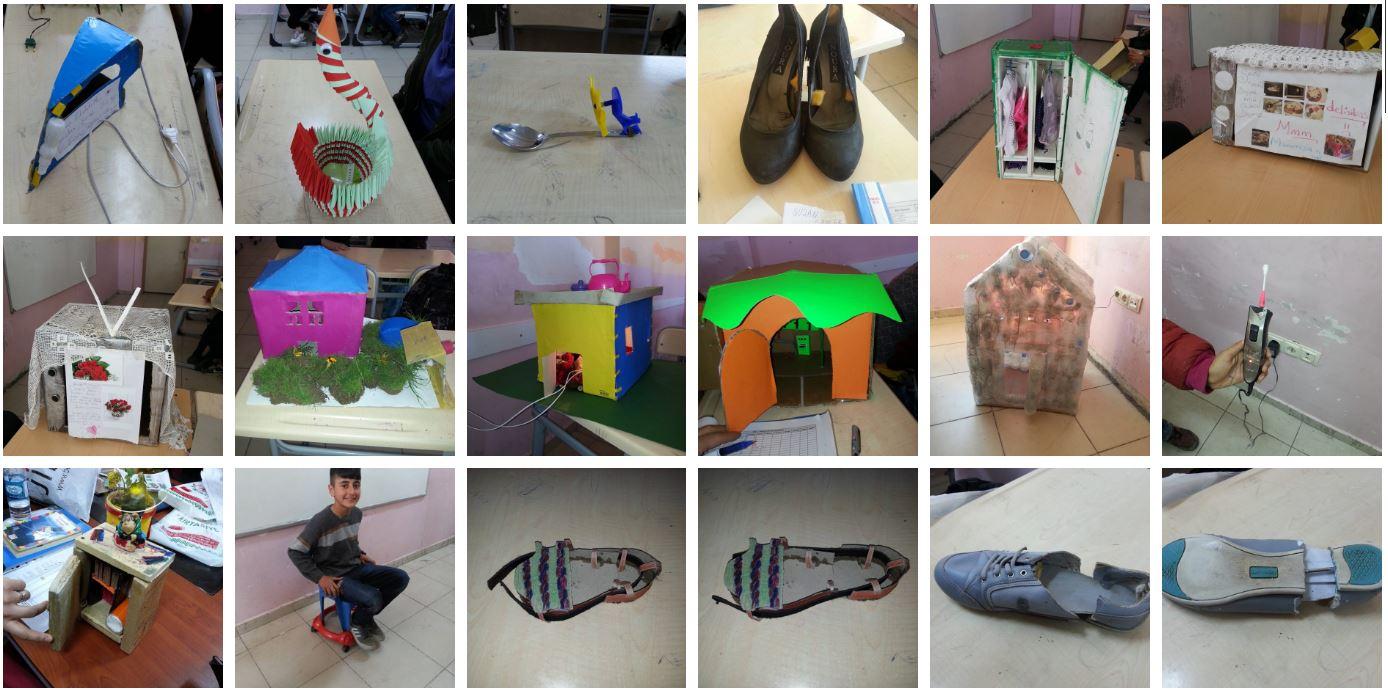 23 Nisan Ortaokulu Özgün Tasarımı Öğrenci çalışmaları – 2016-2017